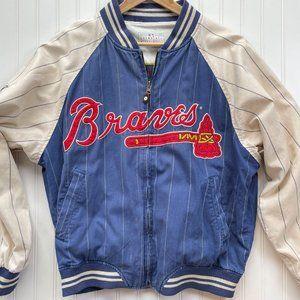 Vintage Atlanta Braves Turner Field Bomber Jacket